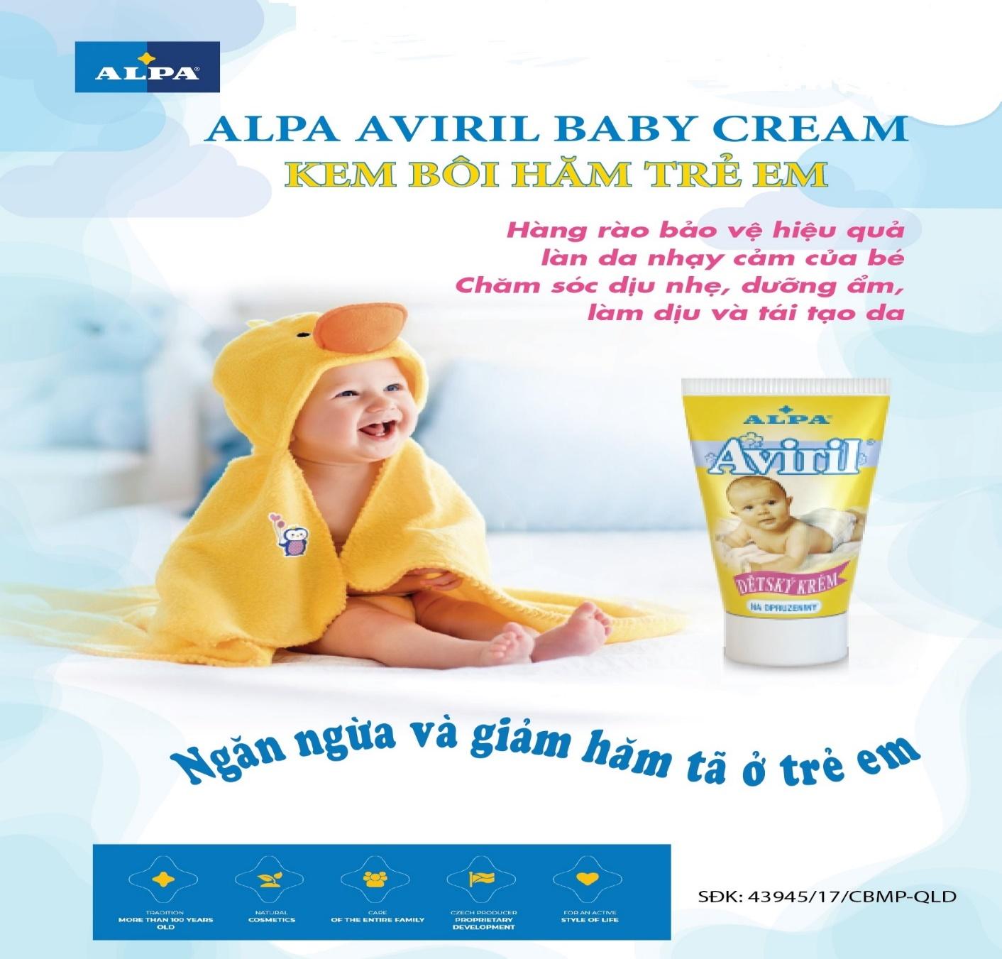 Aviril – biện pháp bảo vệ da hiệu quả nhiều mẹ tin dung