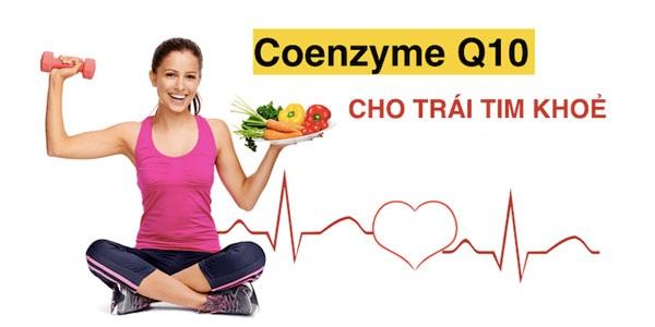 Coenzym Q10 – hỗ trợ sức khỏe trái tim
